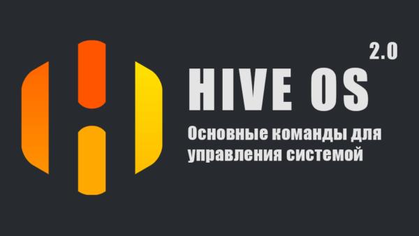 Главные команды для управления Hive OS